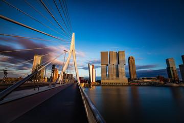 Erasmus Brücke, Rotterdam, Holland, Niederlande