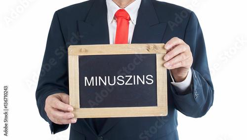 Minus Zins
