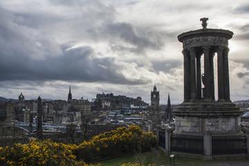 dugald stewart monument edinburgh views