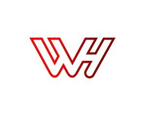 logo letters, w, v, h