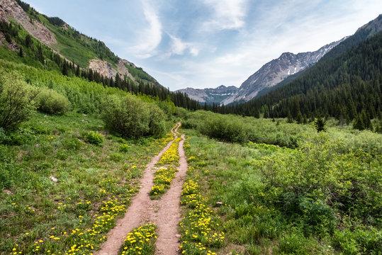 Copper Lake Trail, Crested Butte, Colorado