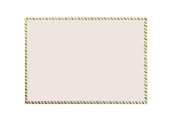 Envelope on a white background.