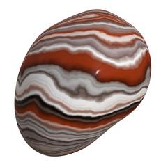 Polished  Sardonyx Pebble