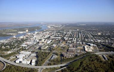 Savannah Aerial View
