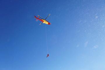 Luftrettung mit Helikopter