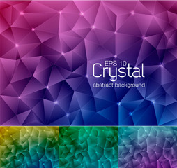 crystal abstract background 6