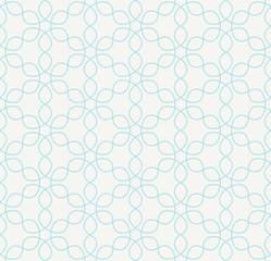 Abstract geometric blue hipster deco art pattern