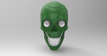 Isolated Human Skull