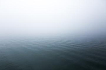 Printed roller blinds Gray Ruhe auf dem Wasser