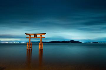 Shirahige-shrine at Biwa-lake,Takashima city,Shiga,japan