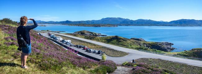 Wohnmobiltour durch Norwegen - Atlantikstraße