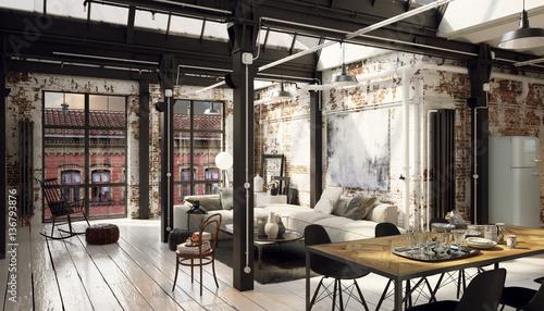 Industrial Loft Apartment - Industrie Loft Wohnung\