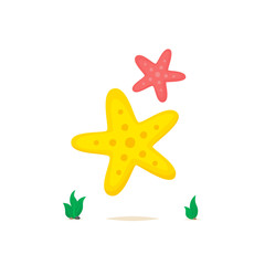Starfish vector isolated