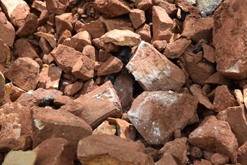 Rocks on the ground
