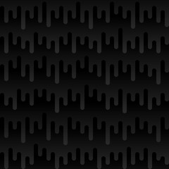 Waveform Irregular Rounded Lines Seamless Pattern
