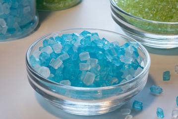 Blue Sugar Crystals