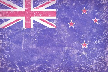 New Zealand flag background