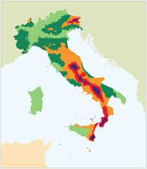 MAPPA SISMICA ITALIA