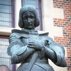 Statue Jeanne d'Arc. Orléans.