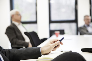 Meeting, Besprechung in einer Firma