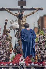 Semana santa en Sevilla, hermandad del Cerro del Aguila