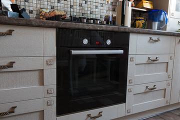 kitchen furniture, kitchen utensils and gas appliances in the ap