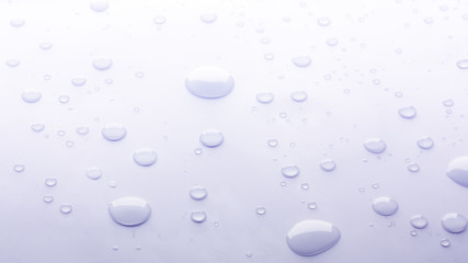 Background with water drops, macro photo, close-up.