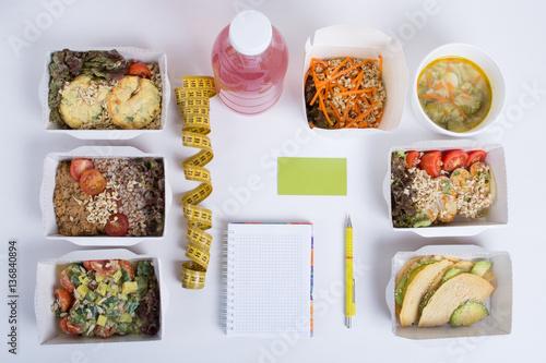план питания на день для похудения
