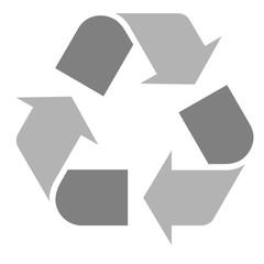 logo recyclage moderne