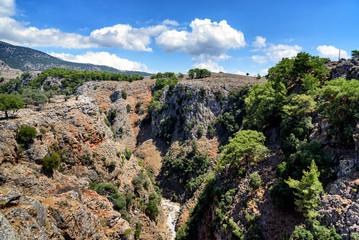Aradena Gorge, Crete island, Greece