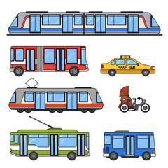 Types of city transport