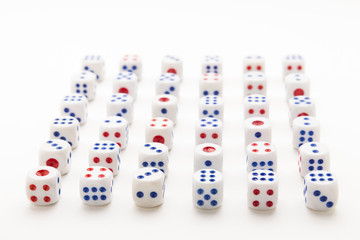 array dice background