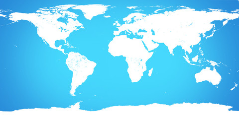world map light blue background. Elements of this image furnishe