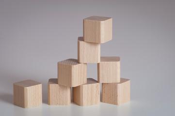 Holzbausteine, Spielzeug, Wooden Toys
