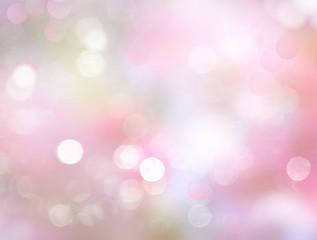 Spring blurred pink background.