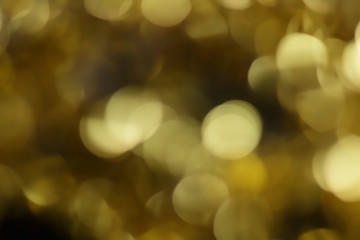 dark gold abstract bokeh background, for graphic background.