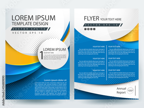 Abstract vector modern flyer design brochure design template abstract vector modern flyer design brochure design template annual report book cover pronofoot35fo Images