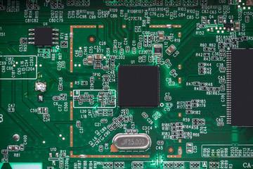 Computer processors CPU concept