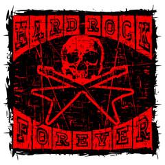 hard rock t-shirt design_2