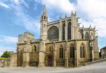 Carcassonne, France, UNESCO. Cathedral