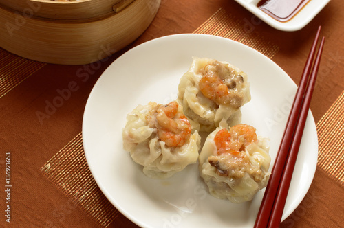 Shumai is a type of traditional chinese dumpling for 8 types of chinese cuisine