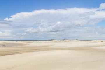 Dunes in the Tavares beach
