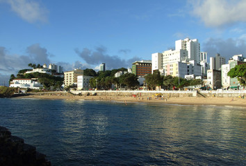 Barra Beach in Salvador