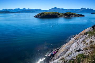 Herrliche Natur in Norwegen geniessen - Atlantikstraße