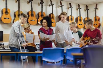 Music Lesson At School