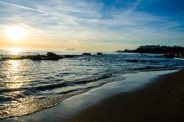 Tramonto Spiaggia Sperlonga