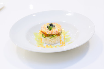 Seafood Timbale