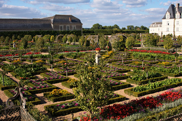 Gardens of Chateau Villandry F
