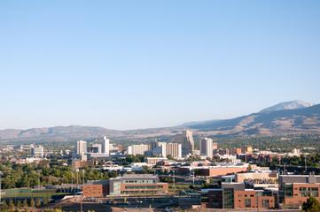 Reno Nevada Downtown Skyline