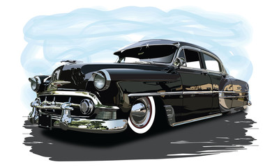 low chevy 2 Wall mural